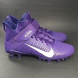 NEW Nike Alpha Menace Pro 2 Mid Football Cleats